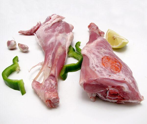 Comprar pierna de cabrito lechal Navidad, comprar piernas cabrito lechal horno, comprar carne cabrito lechal on line