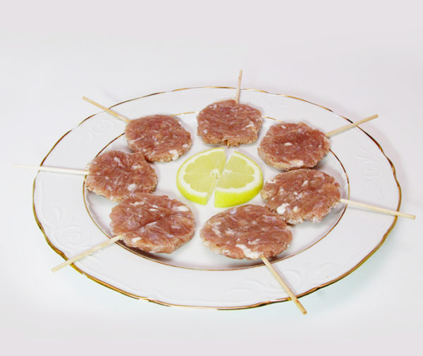 Comprar piruletas de cabrito lechal, piruletas de carne, vanguardismo en carne, comprar vanguardia carne cabrito lechal, carne de cabrito lechal en piruletas