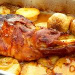 Receta paletillas de cabrito lechal al horno, receta paletillas de cordero lechal al horno